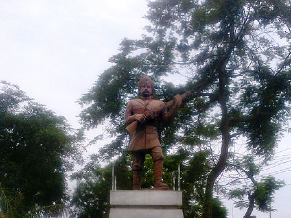 Meerut photos, Shahid Smarak - Statue of Mangal Pandey