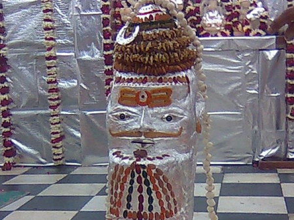 Pilibhit photos, Gauri Shankar Temple - Decorated Idol
