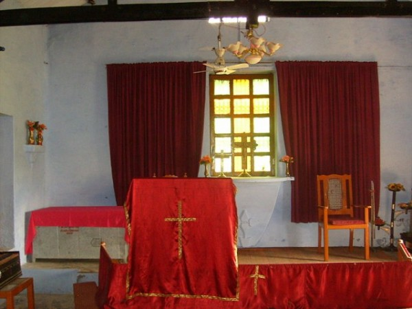 Pilibhit photos, Methodist Church - Interior