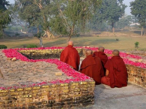 Sravasti photos, Jetavana Monastery - Gandhakuti