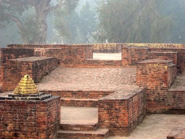 Sravasti photos, Jetavana Monastery - View of Gandhakuti