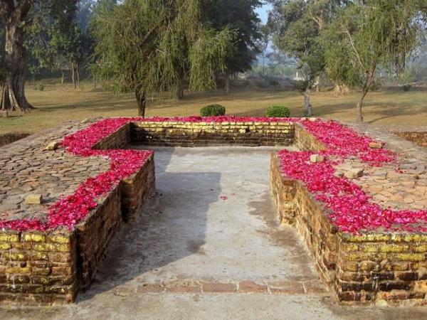 Sravasti photos, Jetavana Monastery - Mulagandhakuti
