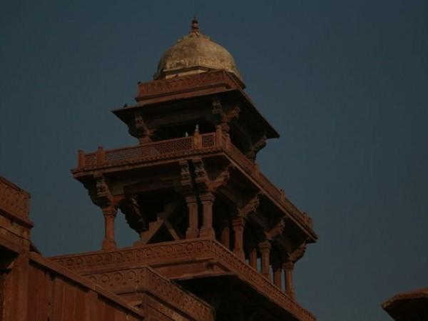 Fatehpur Sikri photos, Panch Mahal - Tower