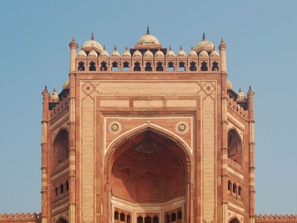 Fatehpur Sikri photos, Buland Darwaza - Exterior View