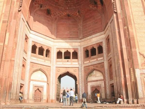Fatehpur Sikri photos, Buland Darwaza - Close View