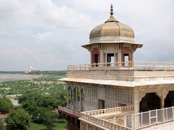 Agra photos, Musamman Burj - The multi-storey tower
