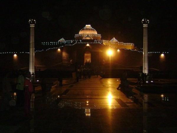 Saharanpur photos, Ambedkar Park - A night view