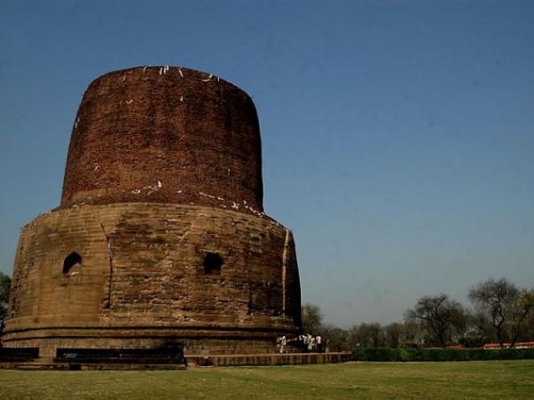 Sarnath photos, Dhamek Stupa - Stupa