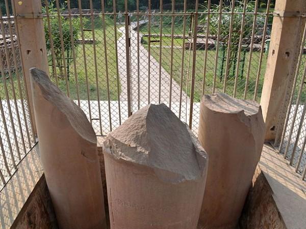 Sarnath photos, Ashoka Pillar - A view