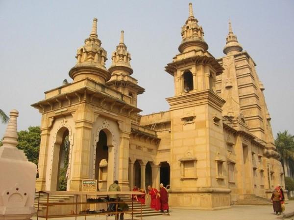 Sarnath photos, Mulagandha Kuti Vihar - A Clear view