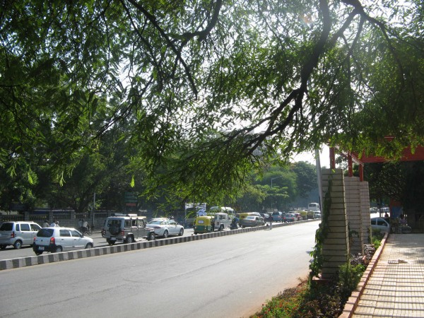 Bangalore photos, Cubbon Park - A Path