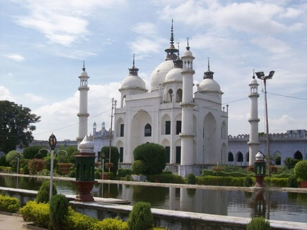 Lucknow photos, Chota Imambara - The Tomb at the Chota Imambara.