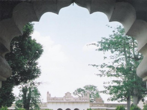 Islamnagar photos, Chaman Mahal -Inside view