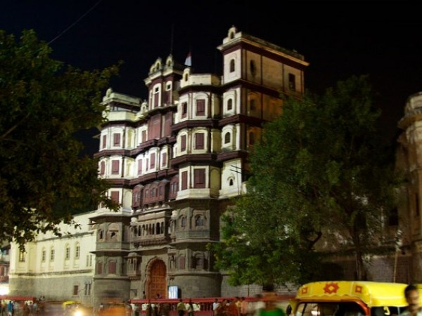 Indore photos, Rajwada Palace - A side view