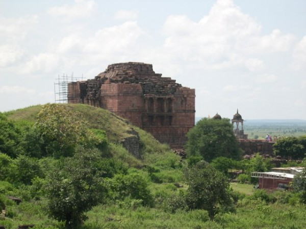 Bhojpur photos, Bhoja's Royal Palace - Ruins of the Palace