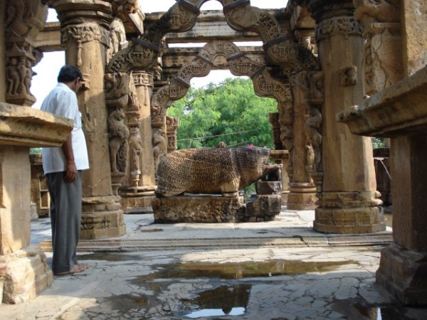 Neemuch photos, Nava Toran Temple - Idol of Varaha