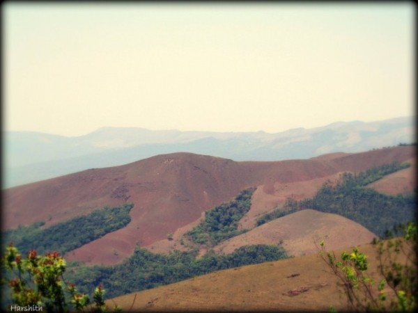 Chikmagalur photos, Mullayanagiri Range - From the Hill-top