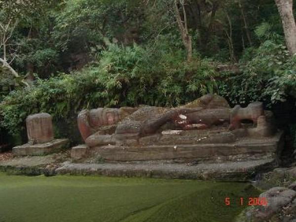 Bandhavgarh photos, Shesh Shaiya - Lord Vishnu