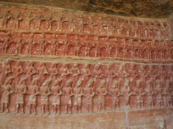 Vidisha photos, Udayagiri Caves - carving1