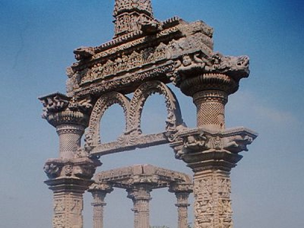Vidisha photos, Hindola Torana - The Ornamental Entrance