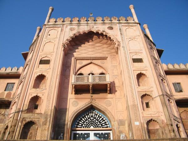 Bhopal photos, Taj-Ul-masjid - The Grand Entrance