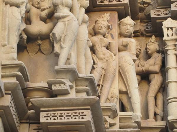 Khajuraho photos, Javari Temple - Outer Walls of the Temple