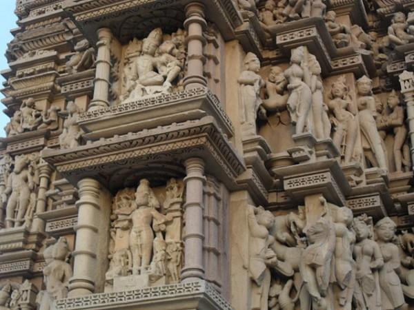 Khajuraho photos, Javari Temple - Stone Architecture