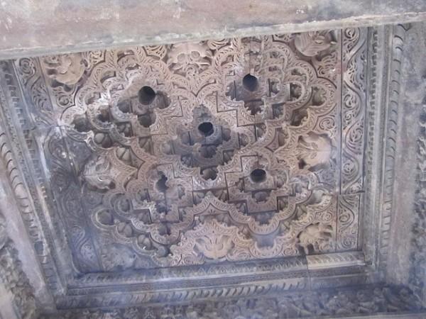 Khajuraho photos, Javari Temple - Roof of the Temple