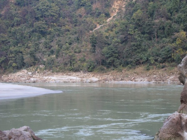 Rishikesh photos, Rishikesh-A view of the serene river