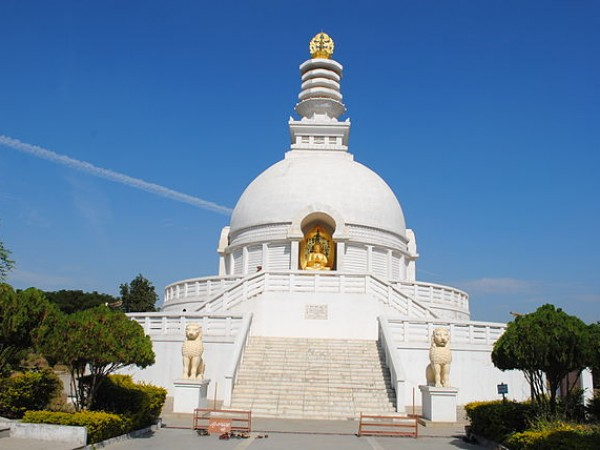 Wardha photos, Vishwa Shanti Stupa - Symbol of World Peace