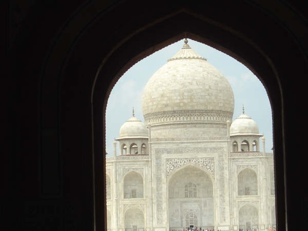 Agra photos, Frontal View