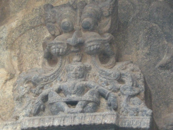 Talakadu photos, Fierce-looking carving