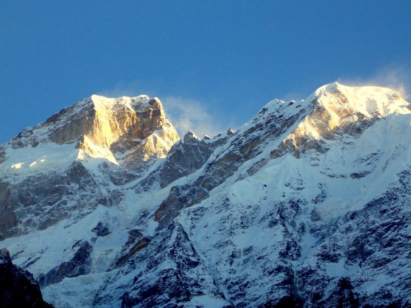 Kedarnath photos, Kedarnath Mountain - A beautiful view of the peak