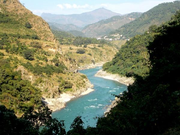 Rudraprayag photos, River Alakananda