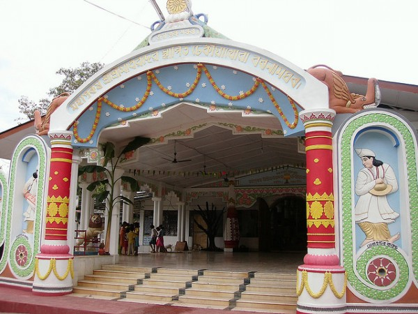 Jorhat photos, Dhekiakhowa Namghar - Grandly built gate