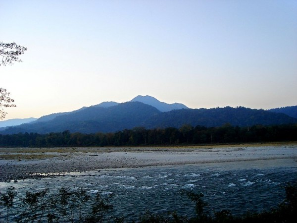Guwahati photos, Manas National Park - scenic view of the hills