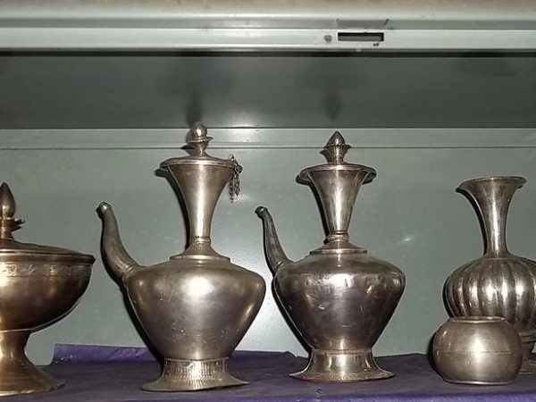 Majuli photos, Benganaati Satra - Brass Utensils