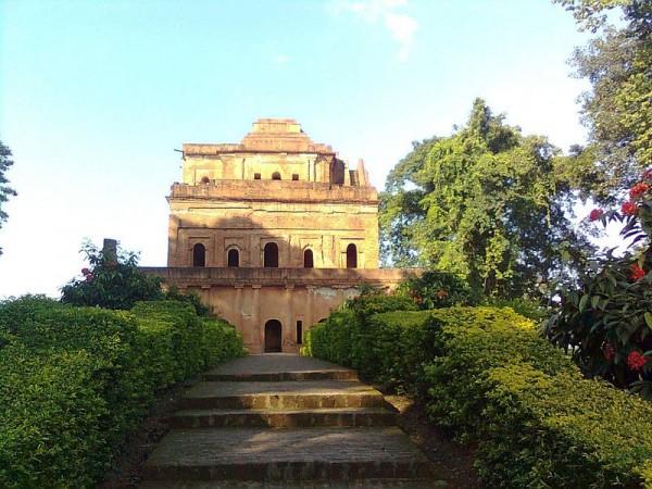 Sibsagar photos, Kareng Ghar - A distant view of Kereng Ghar