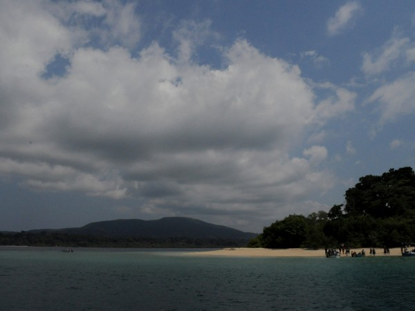 Andaman and Nicobar photos, Ross Island - By the beach
