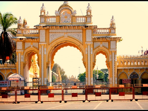 Mysore photos, Mysore Palace - Entrance