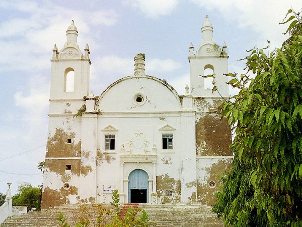 Diu photos, St. Thomas Church - A view of the church