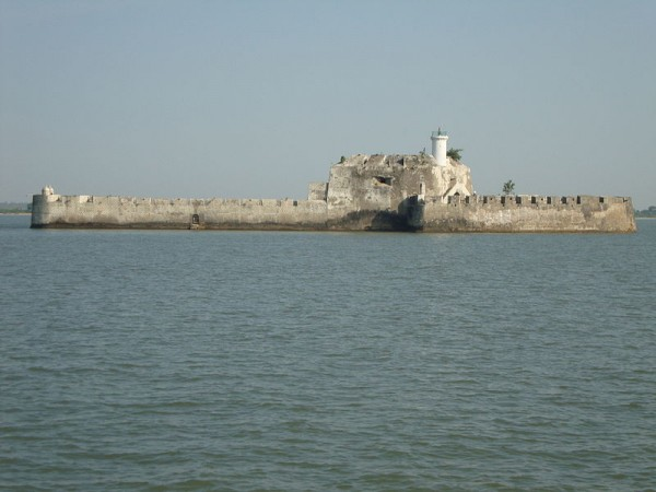 Diu photos, Pani Kotha - View of the Fortress
