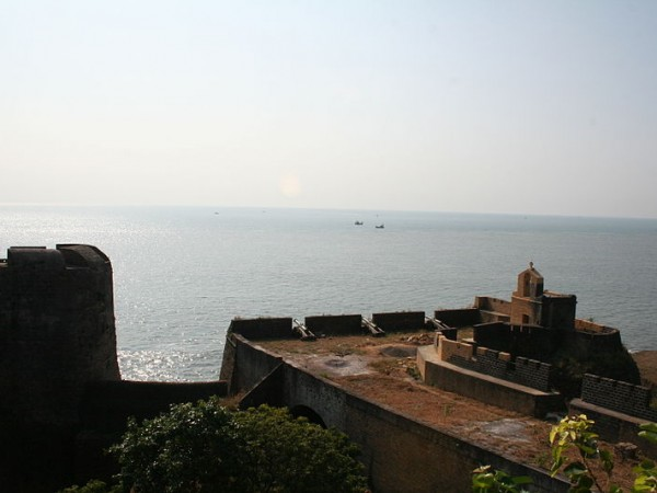 Diu photos, Diu Forts - Beautiful view of the Sea