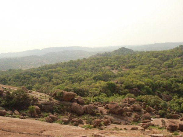 Savandurga photos, Greenery at the Hills