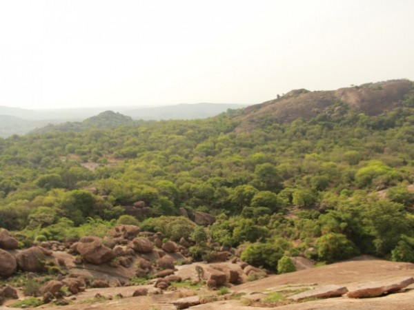Savandurga photos, A view from the top