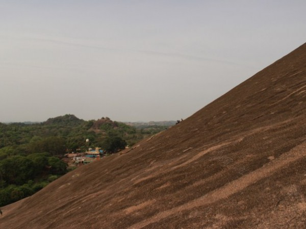 Savandurga photos, The Hill Slope