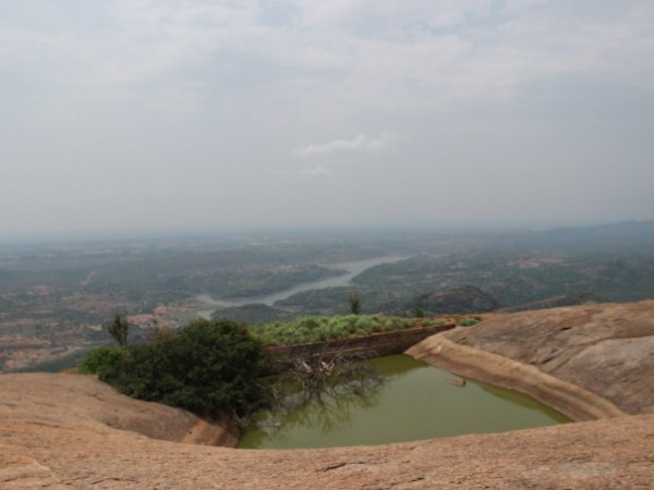 Savandurga photos, A Pond