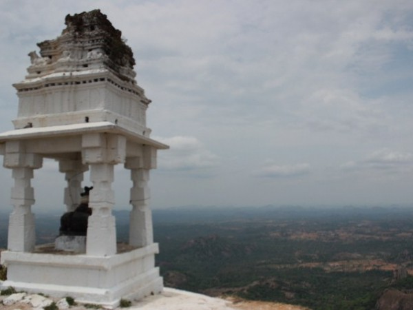 Savandurga photos, The Shrine