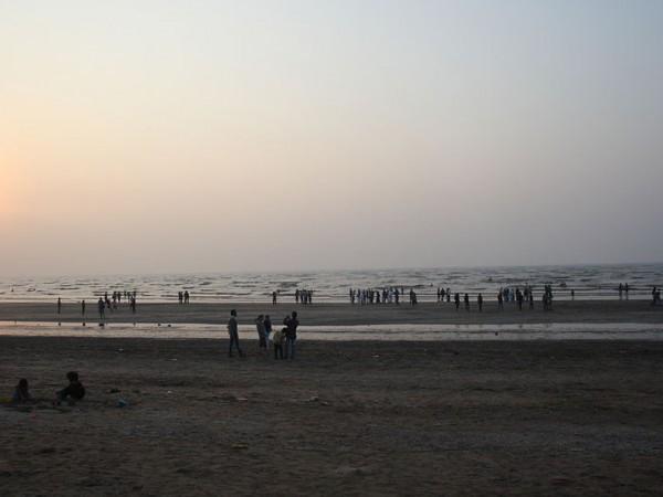 Daman photos, Jampore Beach - Sunset