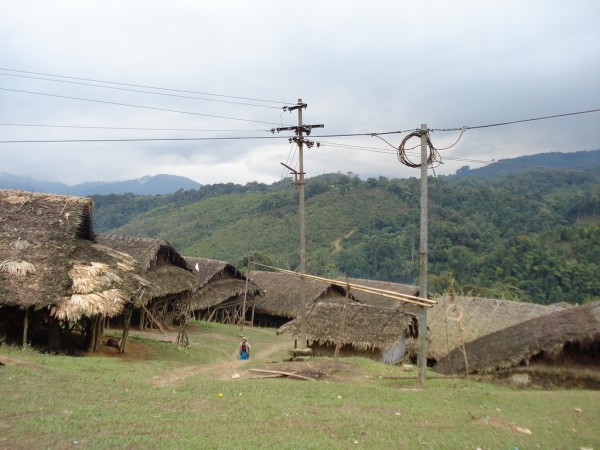 Along photos, Tribal Village